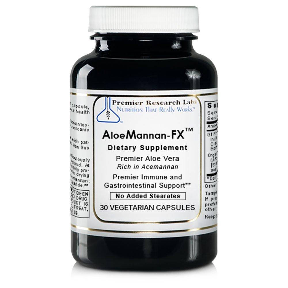 Premier AloeMannan-FX by Premier Research Labs 120 Vcaps (4 Bottles)