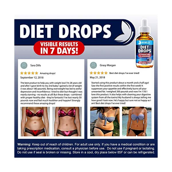 Weight Loss Drops Made In Usa Best Diet Drops For Fat Loss Effective Appetite Suppressant Metabolism Booster 100 Natural Safe Proven