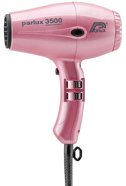 Parlux 3500 Super Compact - Secador de pelo, color rosa