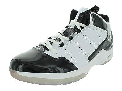 9e8524f1c7 Nike Men's Jordan Play In These Q Basketball Shoes 12 (White/Metallic Silver -