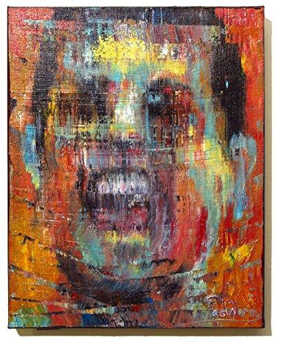 (UNTITLED x1230 - Original oil painting portrait)