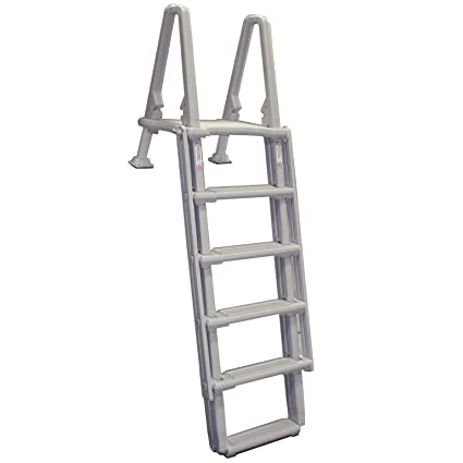 NEW Confer Above Ground 8100X Swimming Pool Ladders Outside Steps Ladder  48u0026quot ...