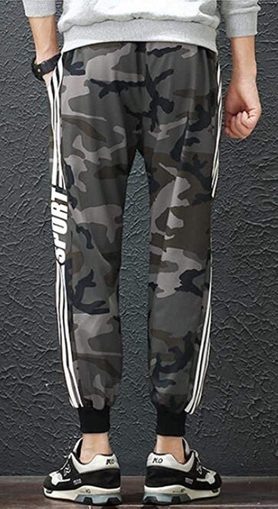 Fubotevic Mens Casual Striped Side Athletic Faux Fur Lined Jogger Pants