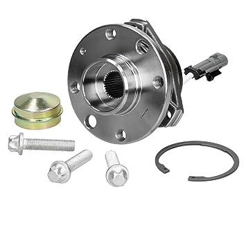 ECD Germany Juego de cojinete de rueda ABS de 4 orificios Juego de rodamientos para coche: Amazon.es: Coche y moto
