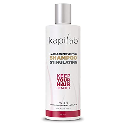 Champú Estimulante Kapilab (360 ml): Amazon.es: Belleza