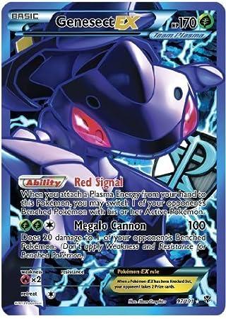 Genesect Ex Plasma Blast 97/101 Full Art Pokemon Card Rare