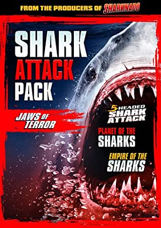 Shark Attack Pack: Jaws Of Terror Edizione: Stati Uniti Italia DVD ...