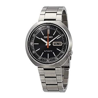 Seiko Reloj Analogico para Hombre de Automático con Correa en Acero Inoxidable SRPC11K1: Amazon.es: Relojes