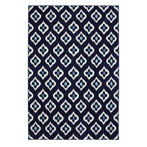 Karastan Pacifica Briarcliff Woven Rug, 8'x11', Indigo