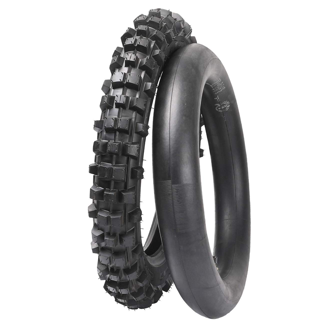 WPHMOTO 12'' 3.00-12 Tire With Tube for XR CRF 70 PW80 KLX110 Street Super Motard Mopeo(80/100-12)