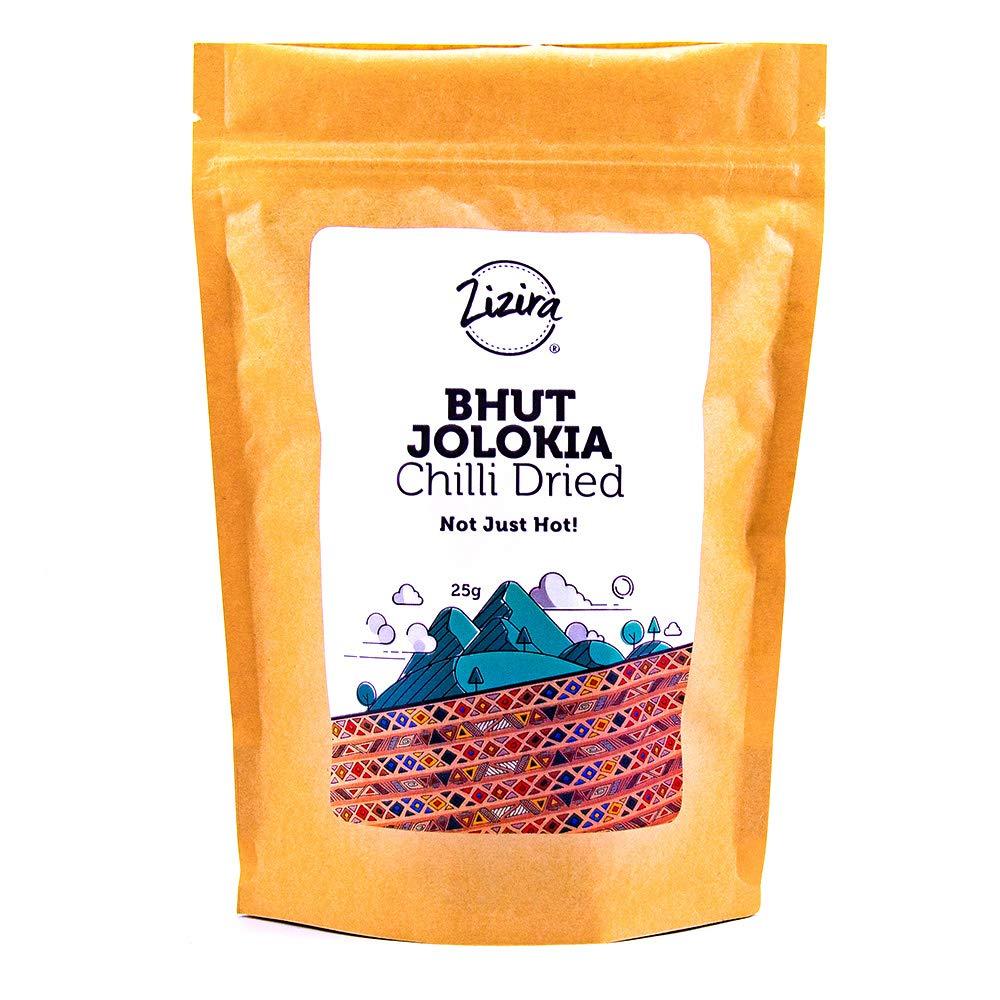 Bhut Jolokia Chilli Naga Chilli Dried Not Just Hot 25G
