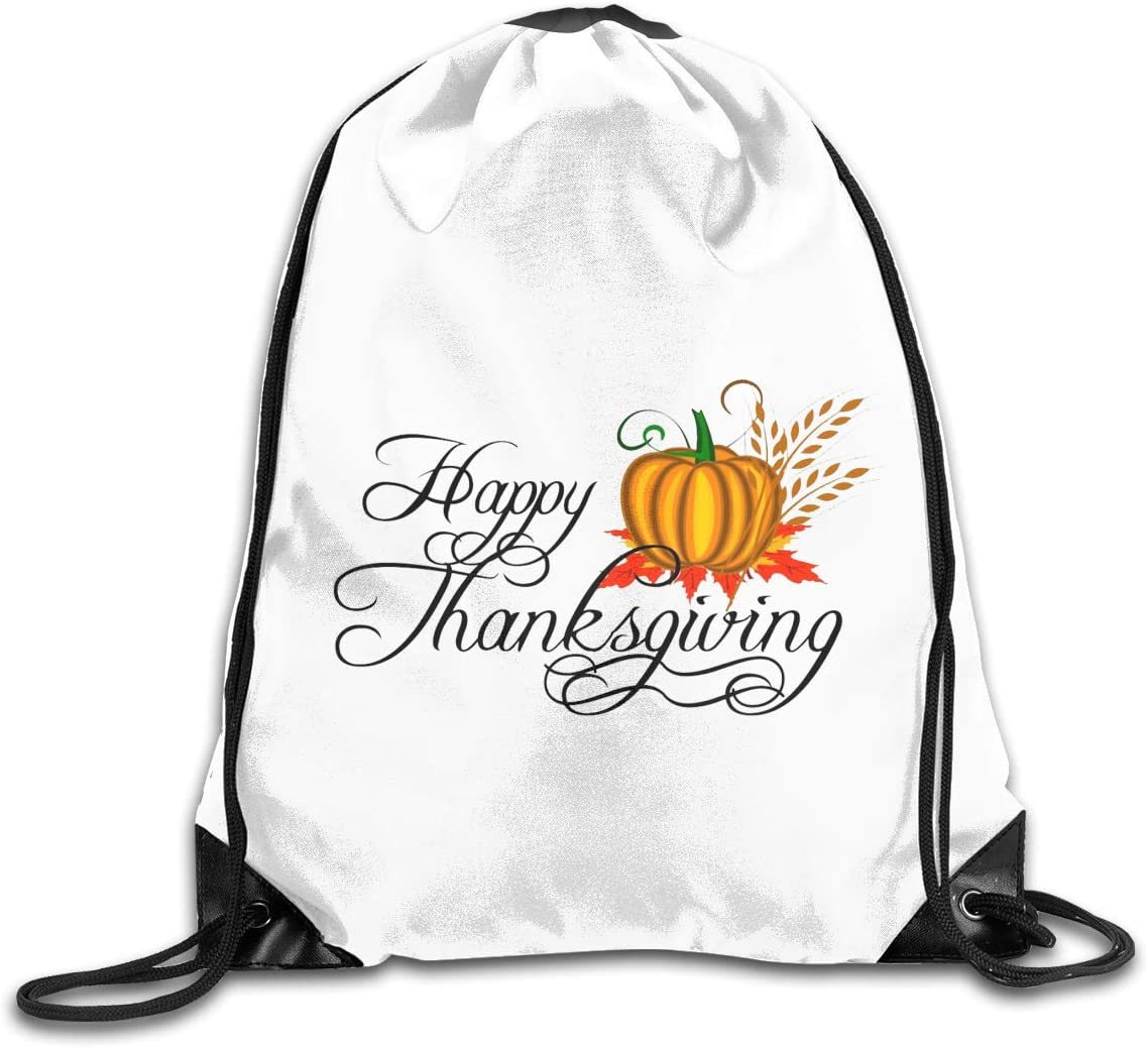 Thanksgiving Day Drawstring Bags Eat Sleep Dance Repeat Beam Mouth Backpack Basketball Tennis Gympack