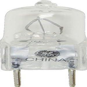 GE Lighting Halogen 34702 50-Watt, 850-Lumen T3 Light Bulb with 2-Pin (GY6.35) Base, 1-Pack