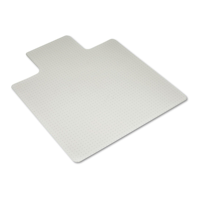 amazon com tenex chair mat 45 x 53 clear edge gripper back for