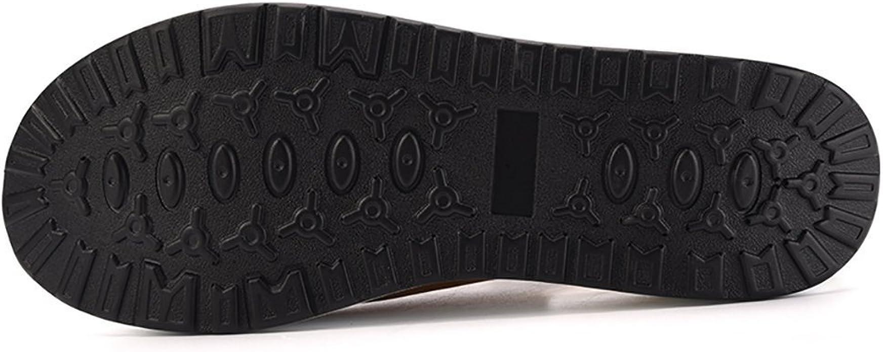 Mujer Zapatillas de Deporte Cu/ña Zapatos para Caminar Aptitud Plataforma Sneakers con Cordones Calzado de Tac/ón 4cm Negro EU 39