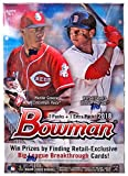 #9: 2018 Bowman Baseball Blaster Box (8 Packs/10 Cards - Possible Autographs)