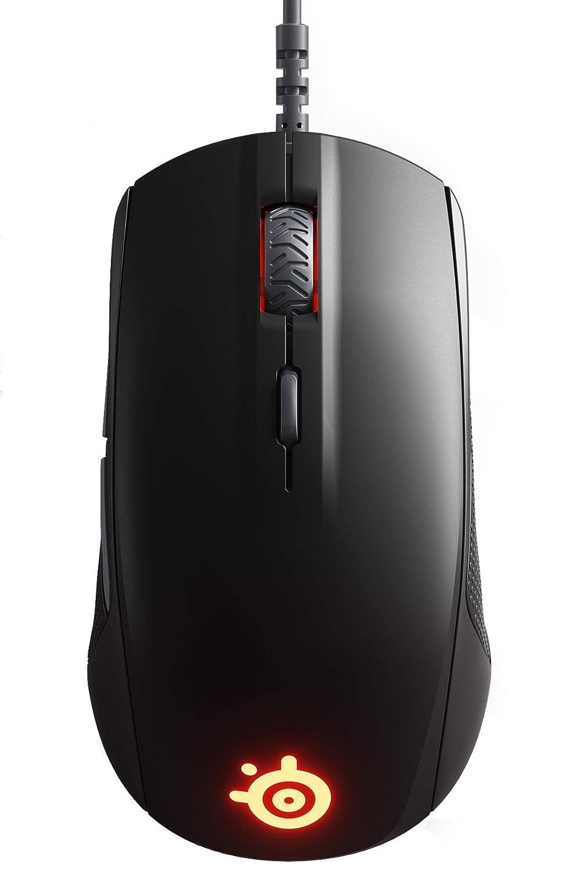 SteelSeries Rival 110 Gaming Mouse – 7,200 CPI TrueMove1 Optical Sensor – Lightweight Design – RGB Lighting Renewed