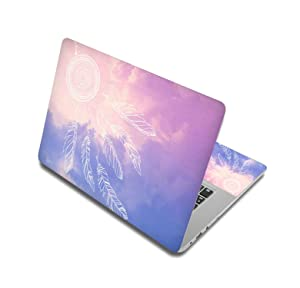 Flower Notebook Sticker Laptop Skin Computer Stickers Case For Macbook Air/Dell/Hp/Asus/Lenovo,17 Inch,Laptop Skin 9