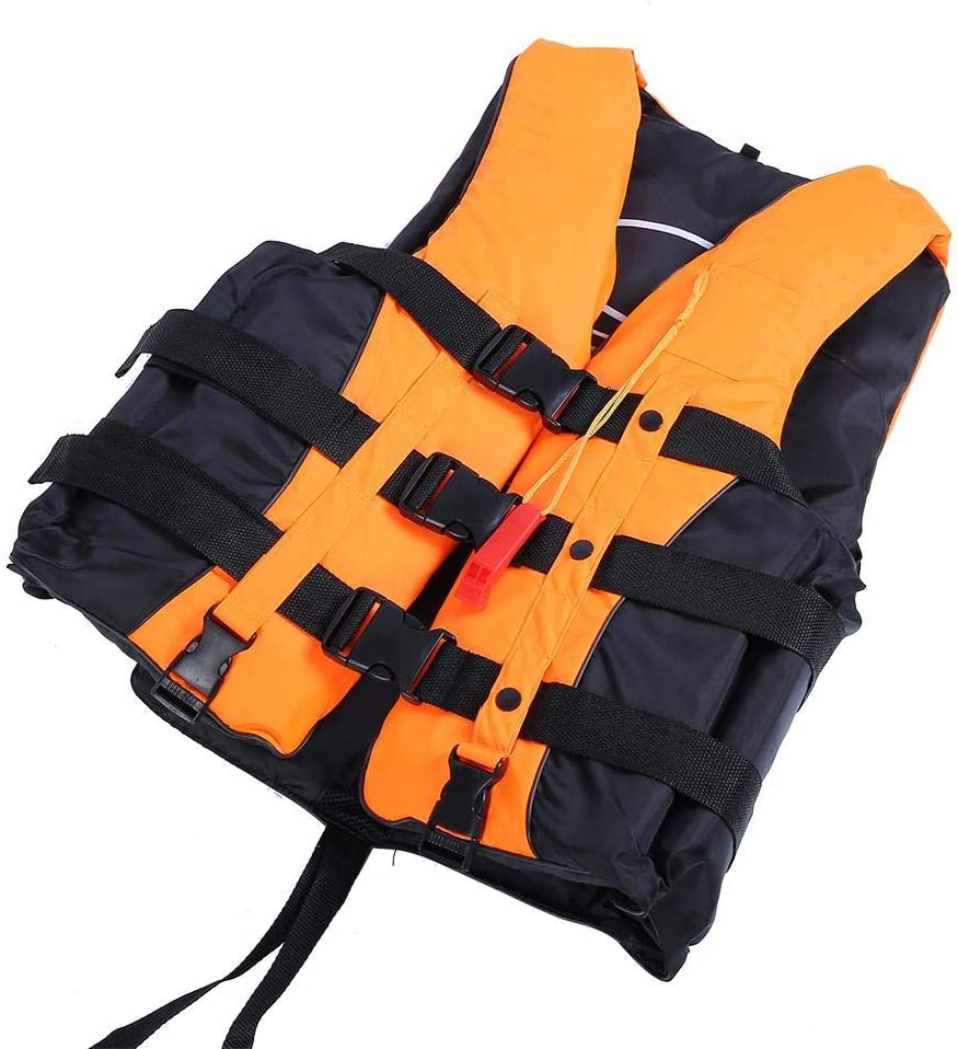 for Swimming Drifting Sailing Universal Adult Life Jacket Adopt EVA High Buoyancy Foams and Can Bear Up to 110kg Weight Zyyini Boating Vest