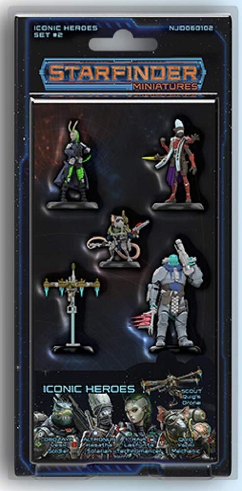 SFRPG Mini: Iconic Heroes Set 2
