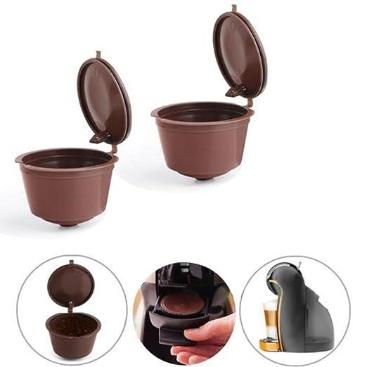 aojian reutilizable cápsulas de café tazas con filtro para ...