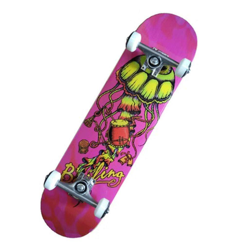 スケートボード初心者スケートボード両側斜めスケートボード四輪アダルトストリートトラベルスケートボード Jellyfish (色 : 蛍光緑色) 蛍光緑色) : B07KLLDRHL Jellyfish Jellyfish, ラジコン天国名古屋店:e0c32310 --- grupocmq.com