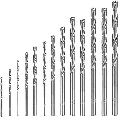 1.5mm Dia 100mm Length HSS Straight Shank Twist Drill Bit Drilling Tool 10pcs