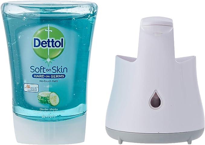 Dispenser di sapone da parete per sapone Sagrotan No Touch MOBILEFOX