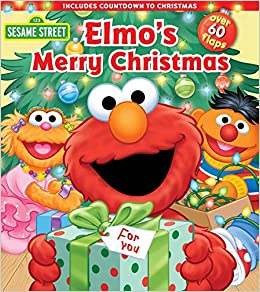 72fb091e75f Sesame Street  Elmo s Merry Christmas (Lift-the-Flap)  Sesame Street ...