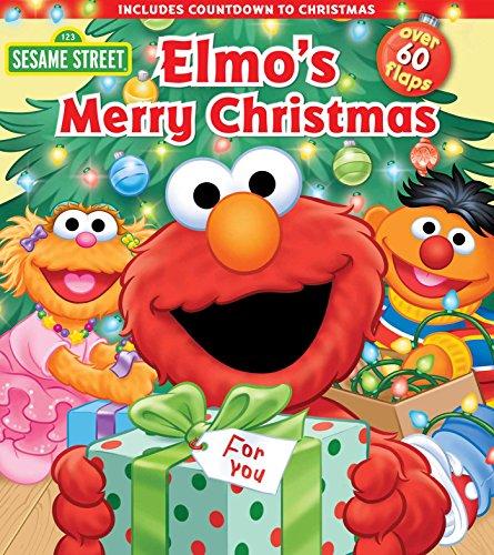 Sesame Street: Elmo's Merry Christmas (Lift-the-Flap) (Open Sesame Best Choices)
