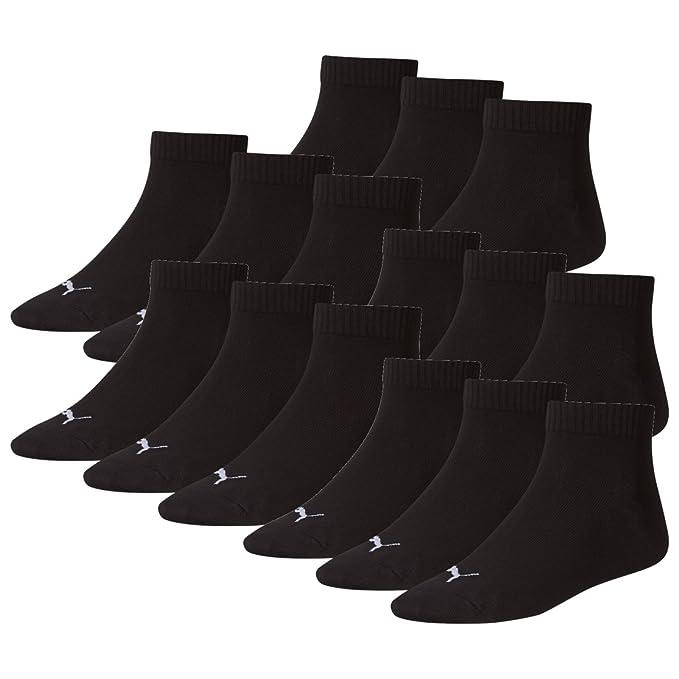 Puma Unisex Quarter Socken Sportsocken 15er Pack