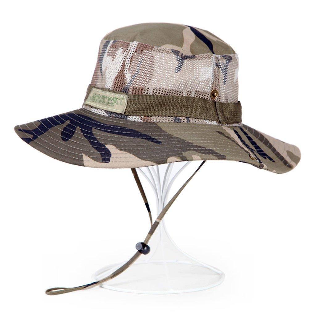 JXXDQ Sombrero de Visera Gorra de Camuflaje de poliéster, Gorra de ...