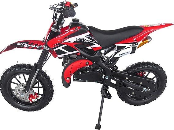 Amazon.com: SYX MOTO Holeshot-X - Mini moto de cross para ...