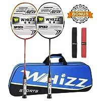 Whizz Graphite Raquette de Badminton Set 87g avec Sac dès