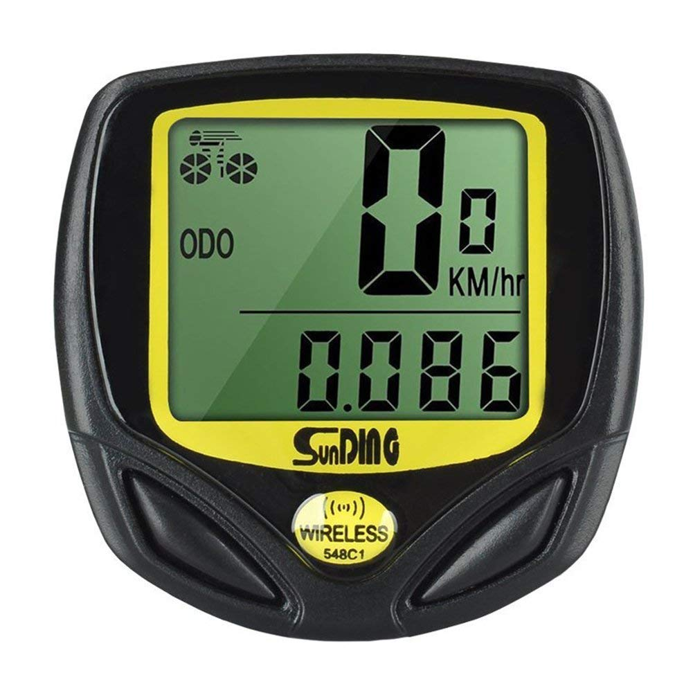 KYFANG Wireless Bike Computer, Waterproof Cycle Speedometer, Automatic Wake-up, Suitable for Multiple Bicycles