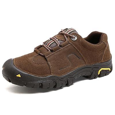 Hommes Chaussures En Cuir Sport En Plein Air Loisirs Caoutchouc Oxford Lace-Up Noir Brun Taille 39 à 44
