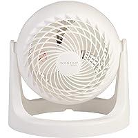 Iris Ohyama Woozoo PCF-HE15 Tafelventilator, krachtig en stil, 360 graden verstelbare hoek, wit, 18,2 x 25,2 x 25,6 cm