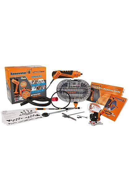 Kit de accesorios multiusos para sierra Twist-a-saw Deluxe de The Renovator,