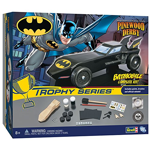 Revell Pinewood Derby Batman Batmobile Trophy Series