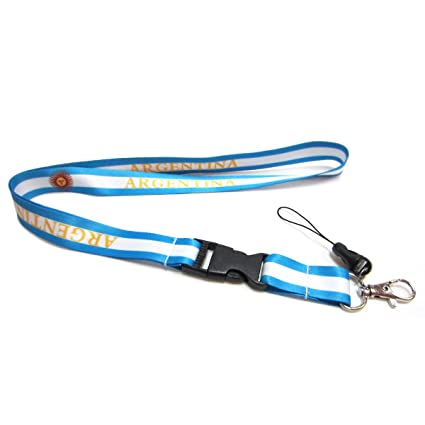 Amazon.com: Argentina Cuello Lanyard: Sports & Outdoors
