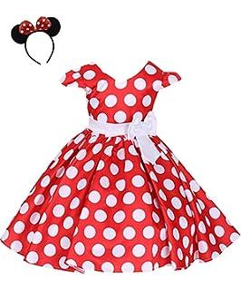 ODASDO Baby Girl Suspender Skirt Set Lotus Leaf Collar Crop Top Headband 3pcs Summer Clothes Set Polka Dots Brace Dress