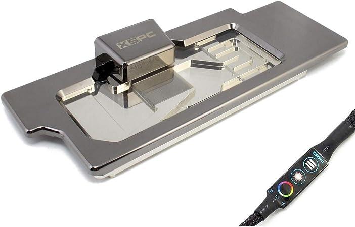 VGA-Cooler XSPC Razor Neo RTX 2080 Ti/ 2080 - Negro Cromo + Glas