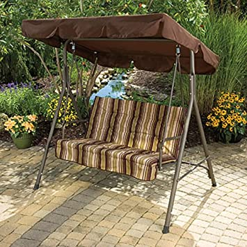 Elegant Naples 2 Seater Swing Replacement Canopy Top Cover