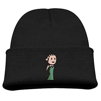 OQHO12 Medusa Kids Hat Warm Soft Fashion Cute Knitted Cap For Autumn Winter