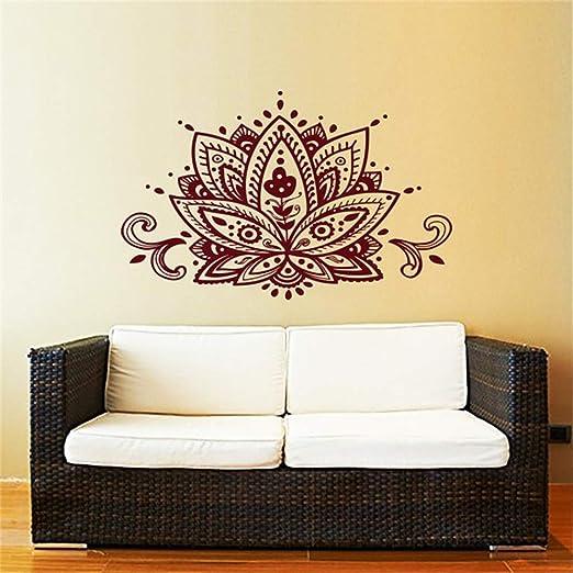 Ajcwhml Lotus Blume Tatuajes de Pared Estudio de Vinilo ...
