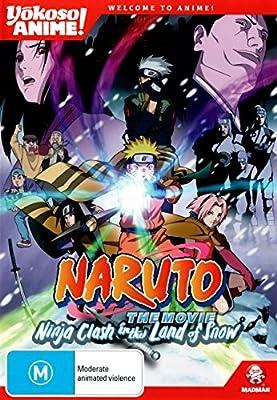 Amazon.com: Naruto The Movie - Ninja Clash in Land of Snow ...