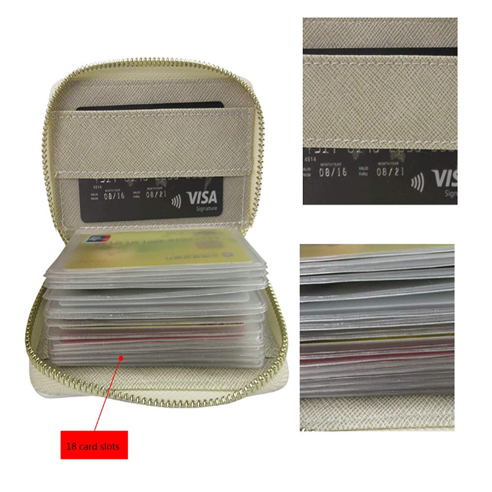 Credit Card Holder Wallets brushed checked tex for Ladies Girls//Gift Box