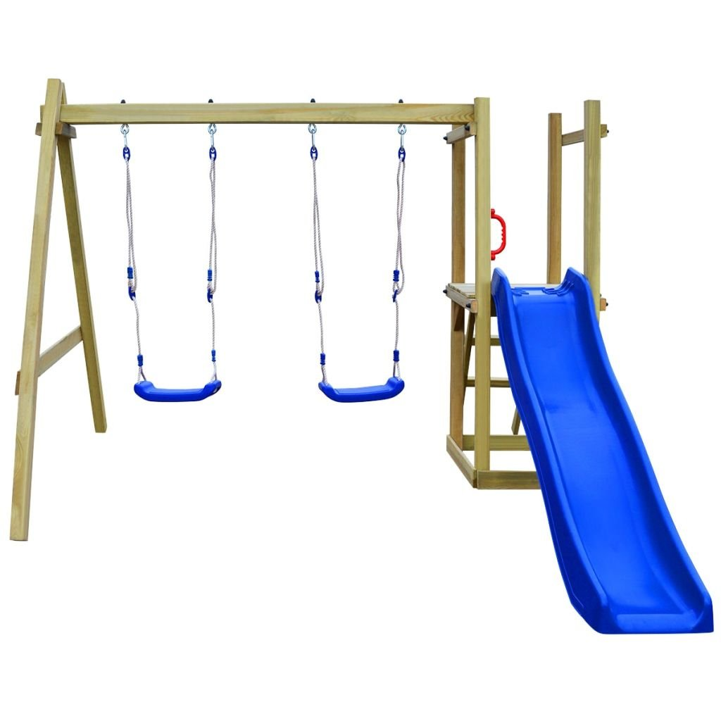 Festnight Spielturm Kletterturm Spielplatz mit Rutsche Leiter ...