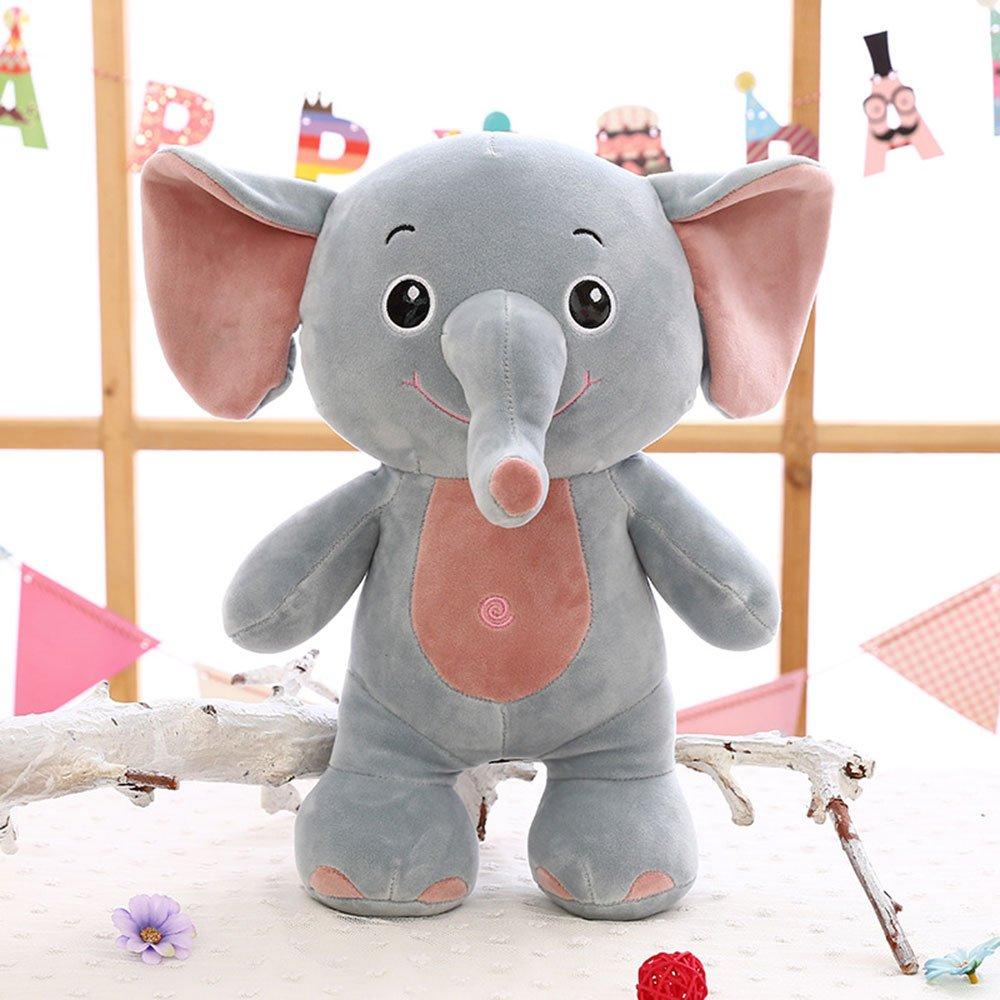 MorisMos Elephant Stuffed Animal Toy Plush Gifts Toy for Kids Gift 24 inch (60x45x25cm) (Elephant)
