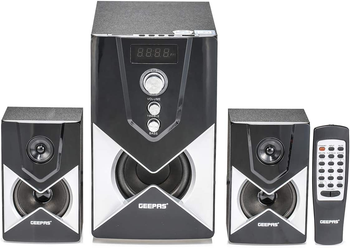 Geepas Stereo System - GMS8515